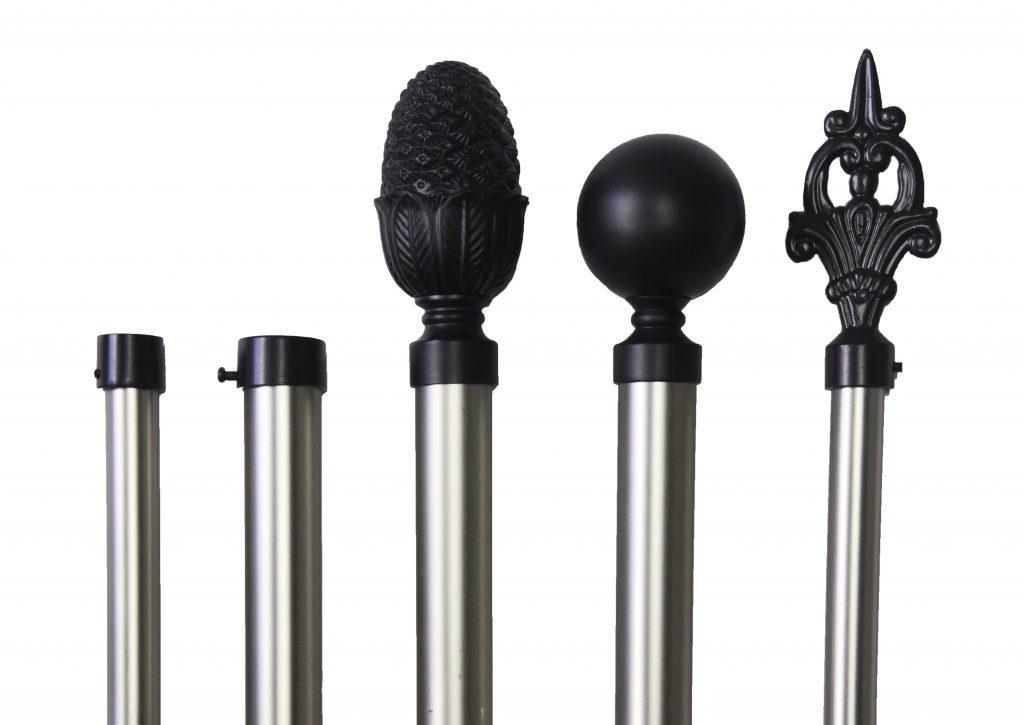 chamberline_combi_zwart_schwarz_matnikkel_mattenickel_eindknoppen_roedes_28mm_19mm_2